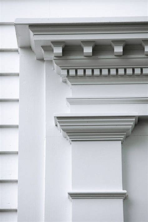 cornice molding pilasters cornice dentil curb appeal architecture in
