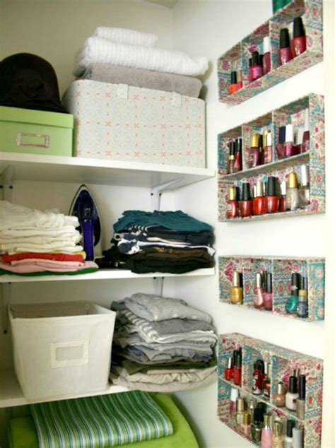 organizing hacks 11 de cluttering tricks that make so much easier a well shelf ideas and craft paint