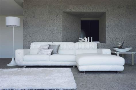 Nice White Leather Tufted Sofa 6 Modern White Leather White Modern Sectional Sofa