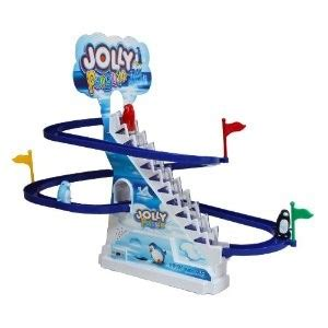 Track Battery Operated battery operated jolly penguin track set wd1017