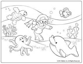 Summer Coloring Pages For Preschool Coloring Home