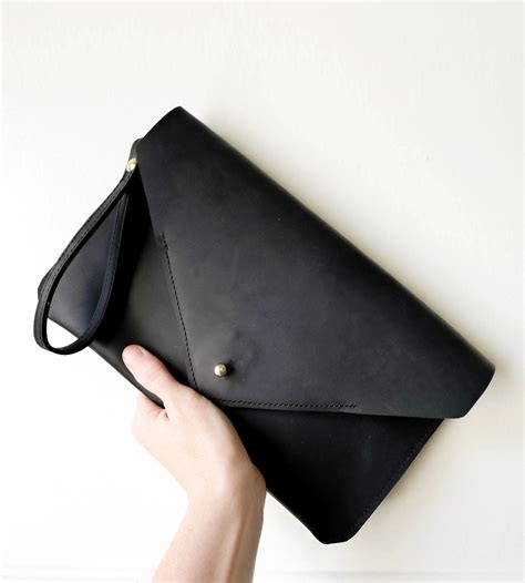 Handmade Leather Clutch Bags - leather envelope clutch bag s accessories bubo