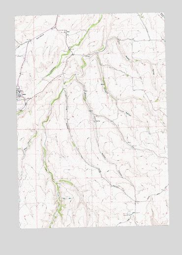 dufur oregon map dufur east or topographic map topoquest