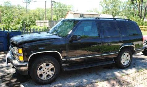 1999 chevrolet tahoe parts sell used 1999 chevy tahoe parts vehicle electrical