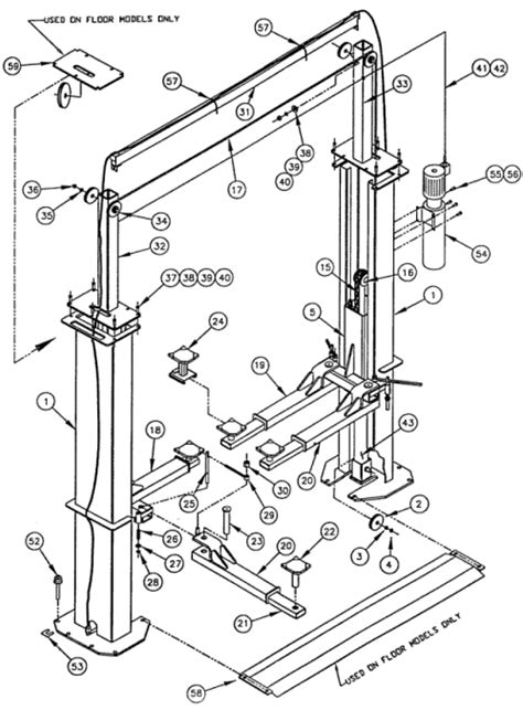 ammco lift wiring diagram webnotex