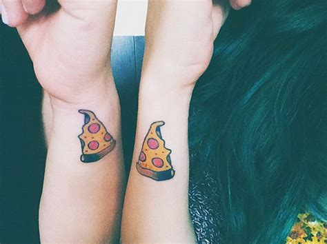 siblings have some clever ideas for matching tattoos 30