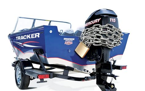 outboard motor security boating world - Boat Propeller Anti Theft