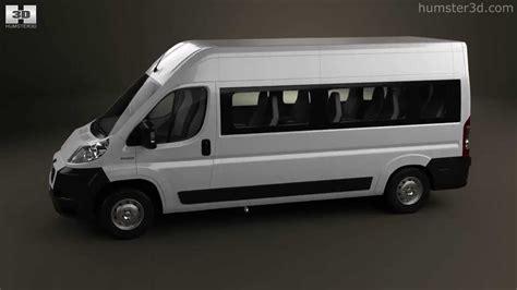 peugeot van boxer peugeot boxer passenger van 2007 by 3d model store