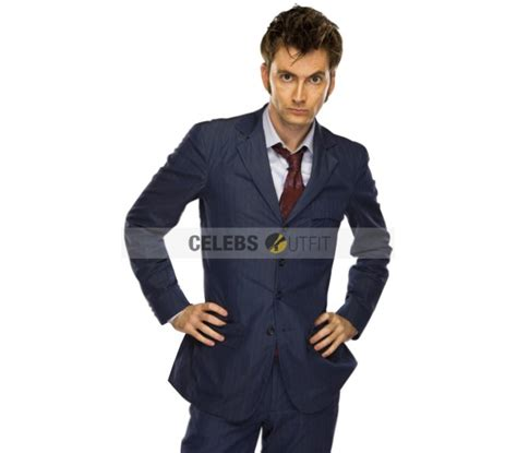 david tennant blue suit tenth doctor who blue suit