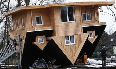 upside down house gettorf s upside down house not the first arkinet