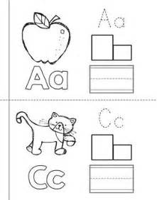 6 best images of printable alphabet books for pre k k