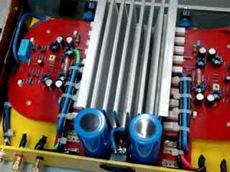 Power Ads A 5501d Monoblock my handmade power lifier project 1000w