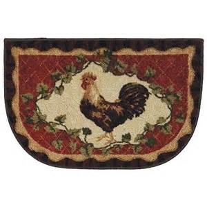Rooster Kitchen Rugs Mohawk Home Framed Rooster Kitchen Rug All Things Rooster Pintere
