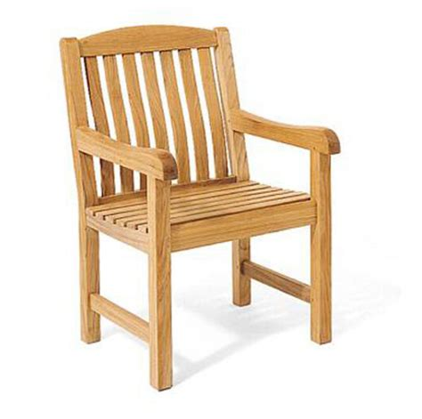 Teak Wood Dining Chairs A Grade Teak Wood Dining Arm Chair Outdoor Garden Patio Furniture New Ebay