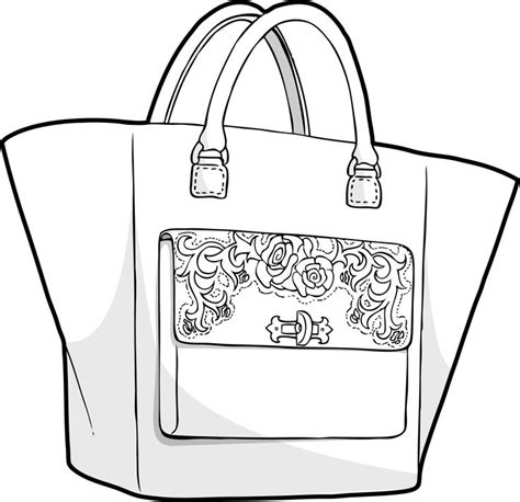 Doctor 123 Bag Tas Tangan 123 best bag sketches images on bag design drawings of and shopping bag design