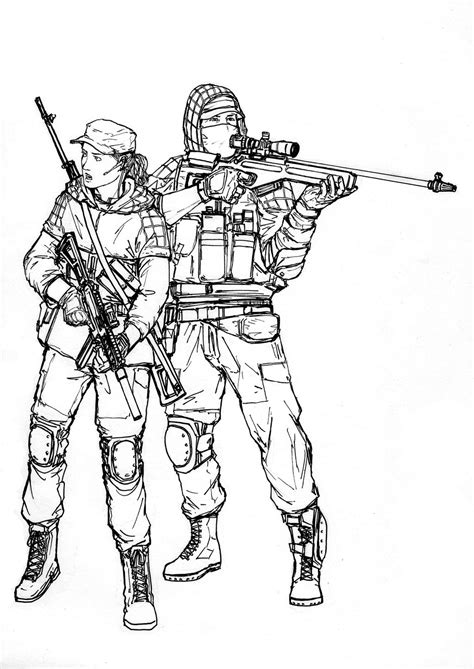 I M Drawing The Line by Russian Soldiers Free Coloring Pages