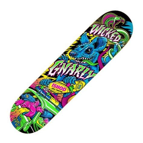 Awesome Skateboard Deck by Real Skateboards Real Ishod Wair Psycho Awesome 2
