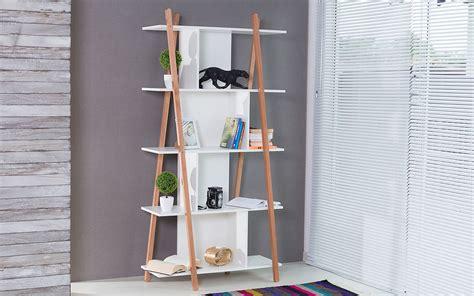 estante escada tok stok estante para livros branca 5 prateleiras p 201 s de