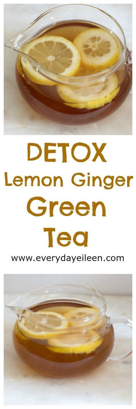 Lemon Juice Honey Detox Diet by Detox Lemon Green Tea Is A Healthy Blend Of Green