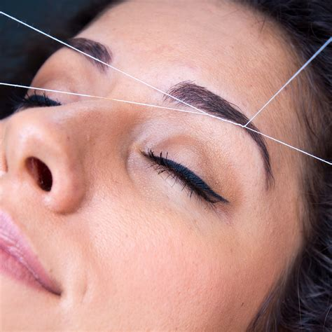 eyebrow waxing long hairstyles