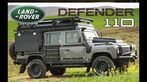 land rover defender  ultimate camper conversion youtube