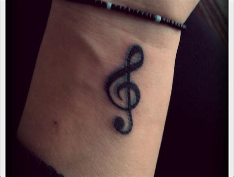 music note tattoo wrist designs for on wrist notes www