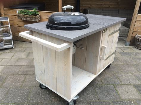 buitenkeuken outside kitchen bbq weber bealmortex