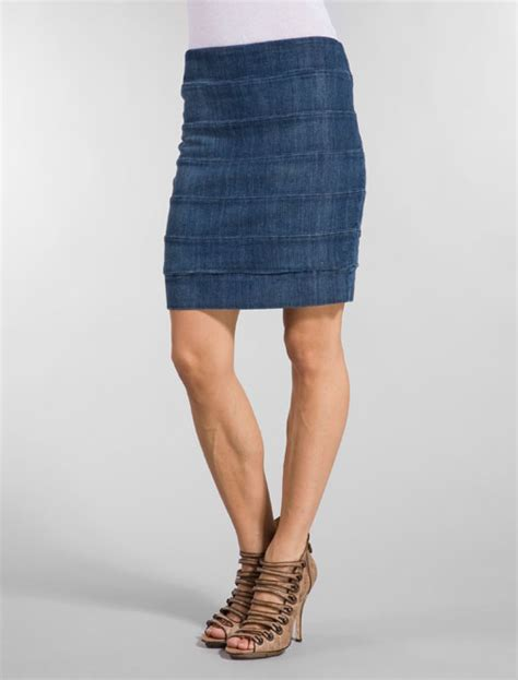 this season s denim skirts in