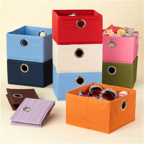 Hanging Storage Bins For Closets Storage Containers Room Decor