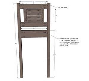 Outdoor Wooden Chair Plans Free by Ana White Vintage Bar Stool Diy Projects