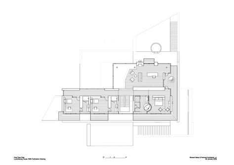 richard meier smith house plans find house plans gallery of luxembourg house richard meier partners 6