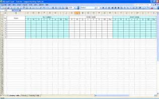tournament table template create your own soccer league fixtures and table excel