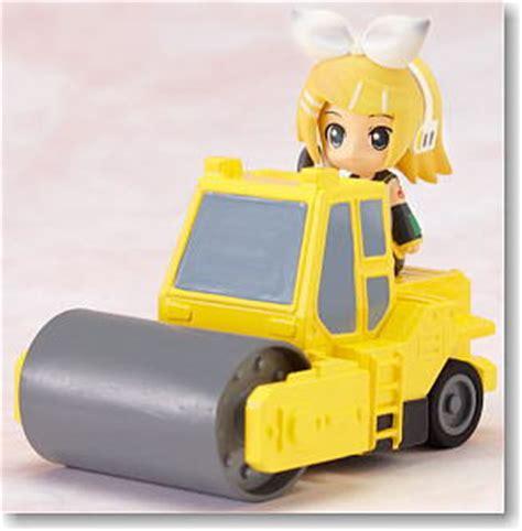Nendoroid Luca Pvc Anime Figure nendoroid plus vocaloid pull back cars rin road roller