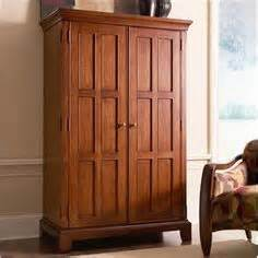 craftsman style armoire