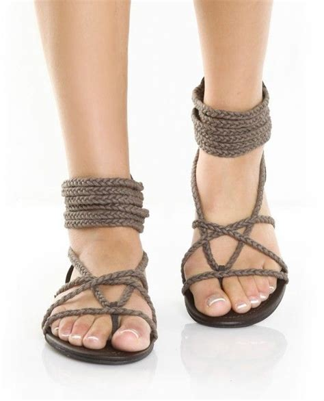 how to make rope sandals 36 best flats images on shoes outlet
