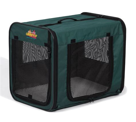 portable crate midwest canine cer soft crates canine cer portable pop up canvass crate