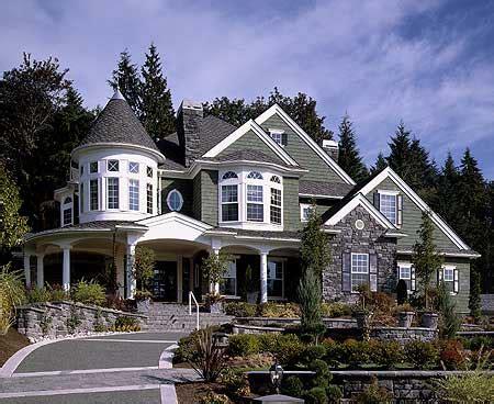 house plans with turrets award winning house plan 2384jd country northwest shingle luxury photo gallery premium
