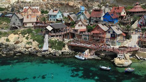 popeye village let s travel the world popeye village in malta