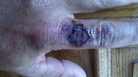 finger tattoo hd harley tattoos pics page 4 harley davidson forums