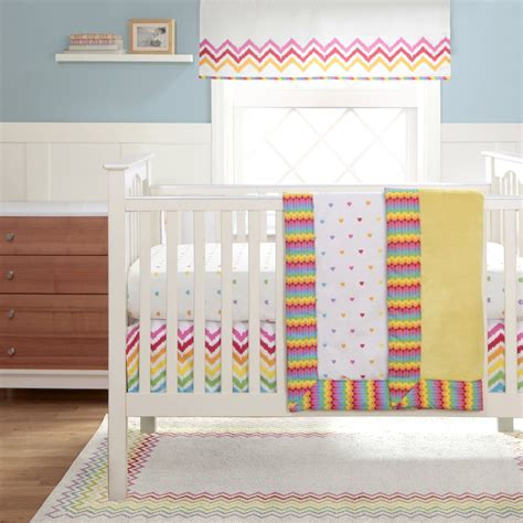 Rainbow Crib Bedding Migi Rainbow Baby Bedding Baby Bedding And Accessories