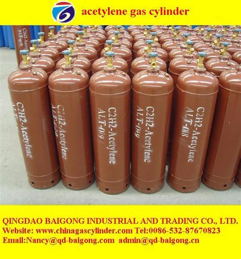 High Quality Dissolved 40l Acetylene Gas Cylinder Of Chinagascylinder Gb11638 Standard Dissolved Acetylene Bottle For Sale Buy Acetylene Bottle Sale Acetylene