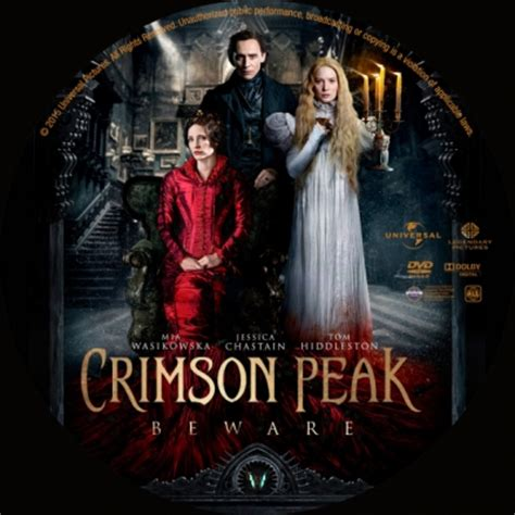 cover reveal the crimson five crimson peak dvd covers labels by covercity