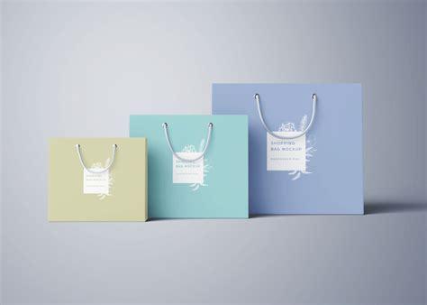 bag design mockup shopping bag mockup psd