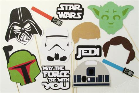 printable photo booth props star wars throw an epic star wars themed party disneyexaminer