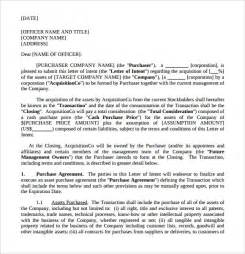 Letter Of Intent To Purchase Word Document Letter Of Intent To Purchase 9 Free Documents
