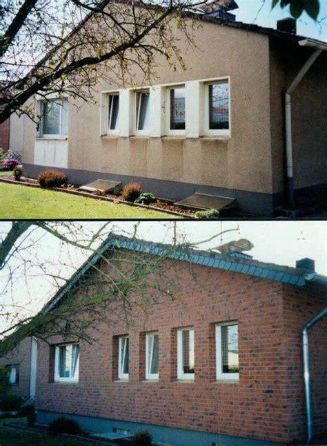 Haus Verklinkern by Bau Net Forum Au 223 Enw 228 Nde Und Fassaden 14200 Haus