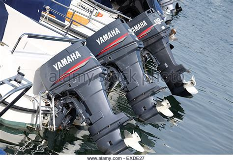 yamaha motor boat yamaha engine in boat stock photos yamaha engine in boat