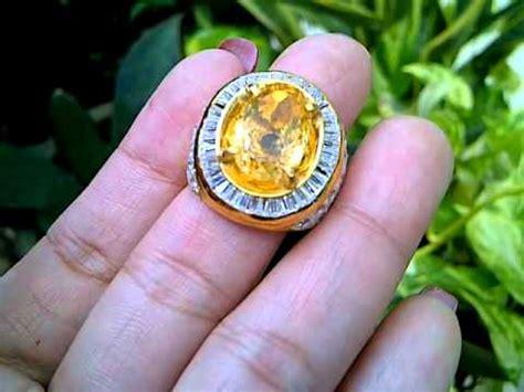 Batu Citrine Citrine Gc930 cincin batu citrine code 2313 uda terjual