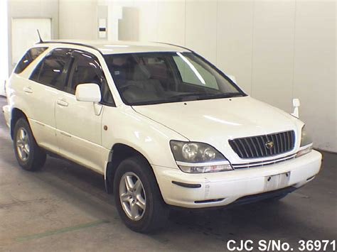 1999 toyota harrier 1999 toyota harrier white for sale stock no 36971