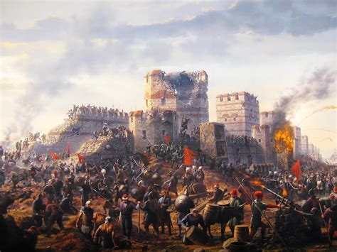 ottomans conquered constantinople the fall of constantinople